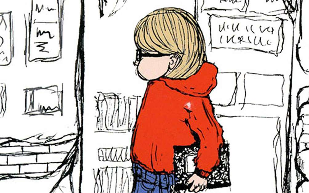 Cover art for Harriet the Spy, by Louise Fitzhugh