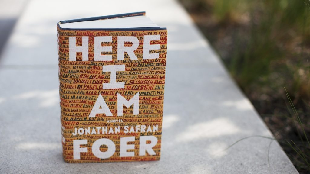 Jonathan Safran Foer's newest novel, Here I Am