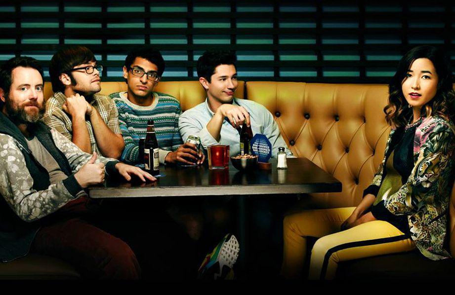 The cast of Amazon comedy Betas