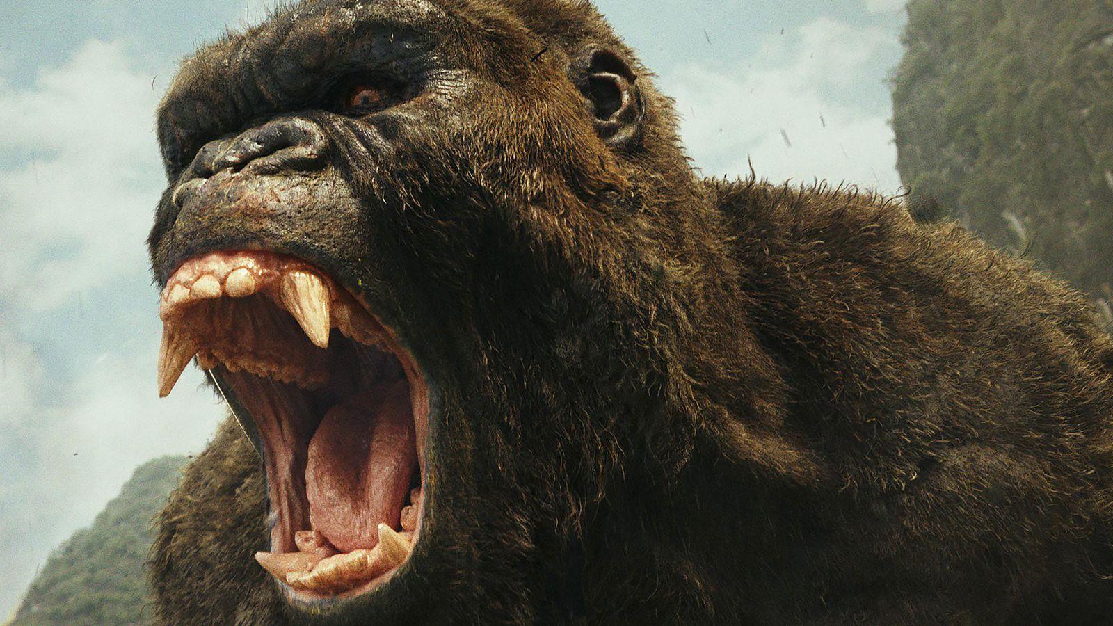 Kong roars in Skull Island