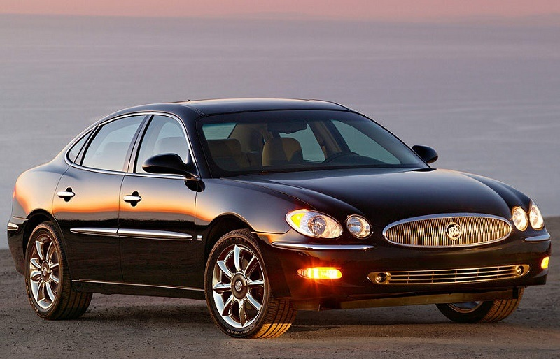 Buick LaCrosse from 2007 model year