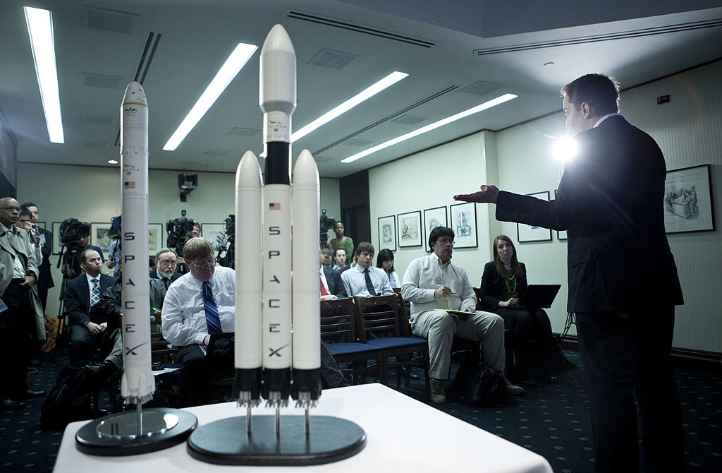 Elon Musk, CEO of Space Exploration Technologies Corp