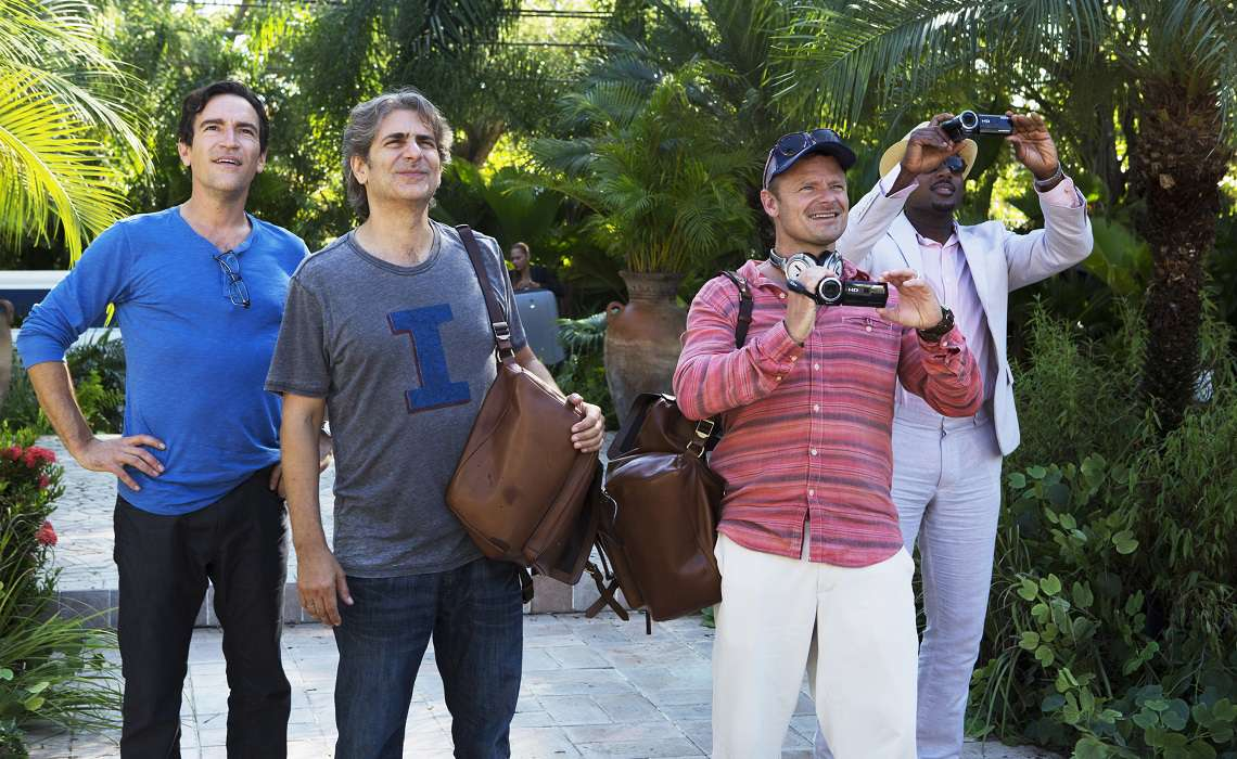 The cast of Amazon comedy Mad Dogs