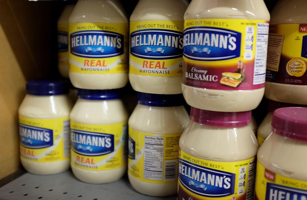 jars of mayonnaise