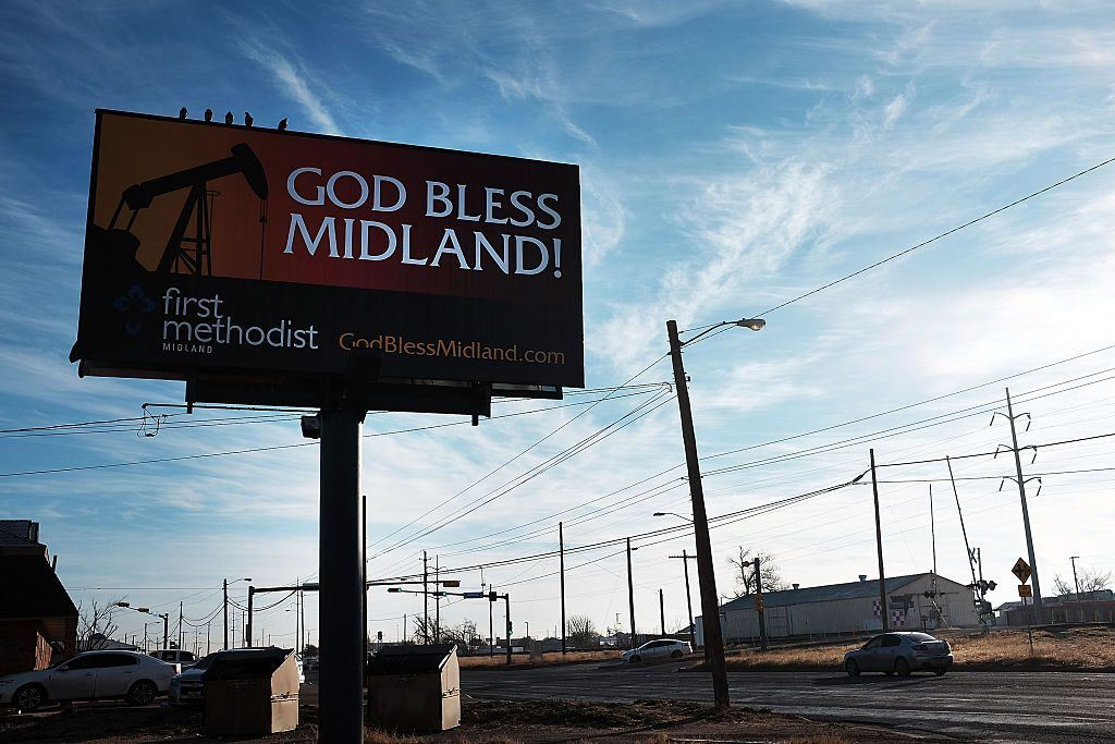 Midland, Texas billboard