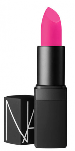 bright pink lipstick from NARS