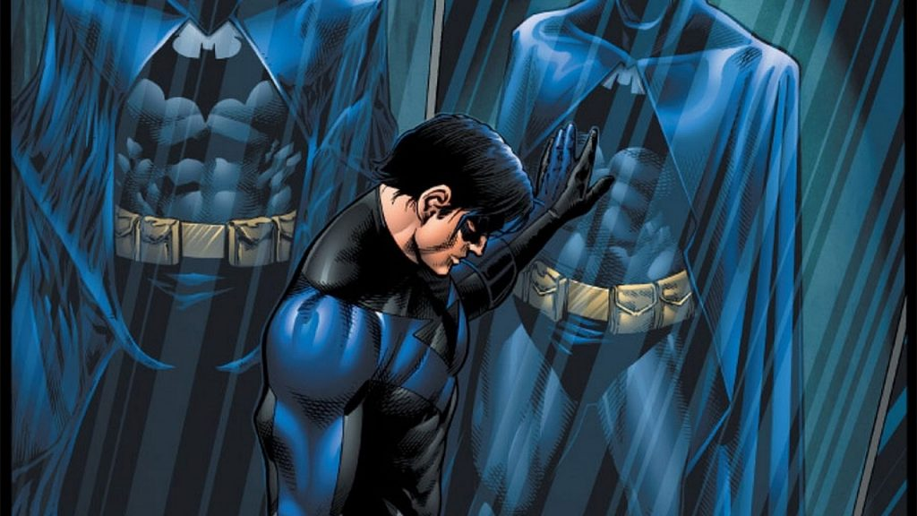 Nightwing filling in for Batman