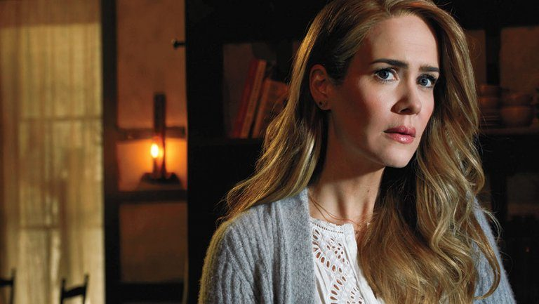 Sarah Paulson appears in American Horror Story: Roanoke on FX
