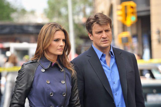 Kate Beckett (Stana Katic) and Castle (Nathan Fillion) in ABC's 'Castle'