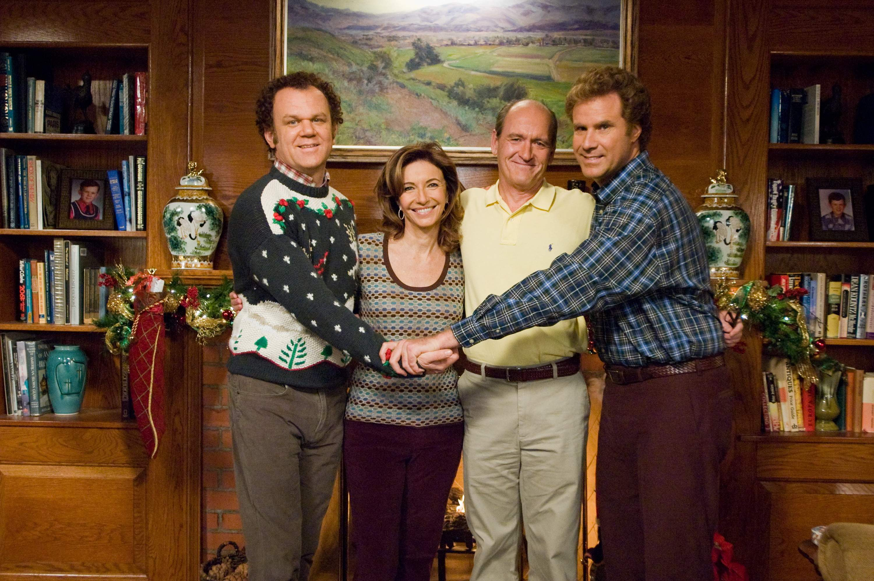 The faux millennials living at home in the movie Stepbrothers