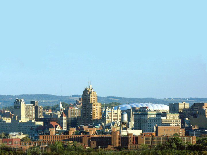 Syracuse skyline