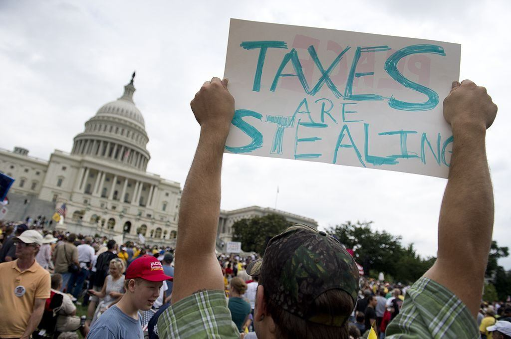 tax protesters