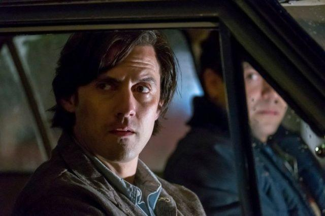 Jack sitting in a car in a scene from the 'This is Us' episode 'Moonshadow'