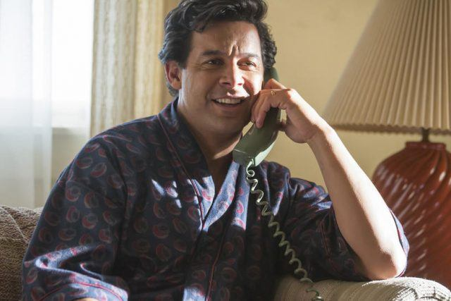 Miguel speaking to Jack on the phone in the 'This Is Us' episode 'The Big Day.'