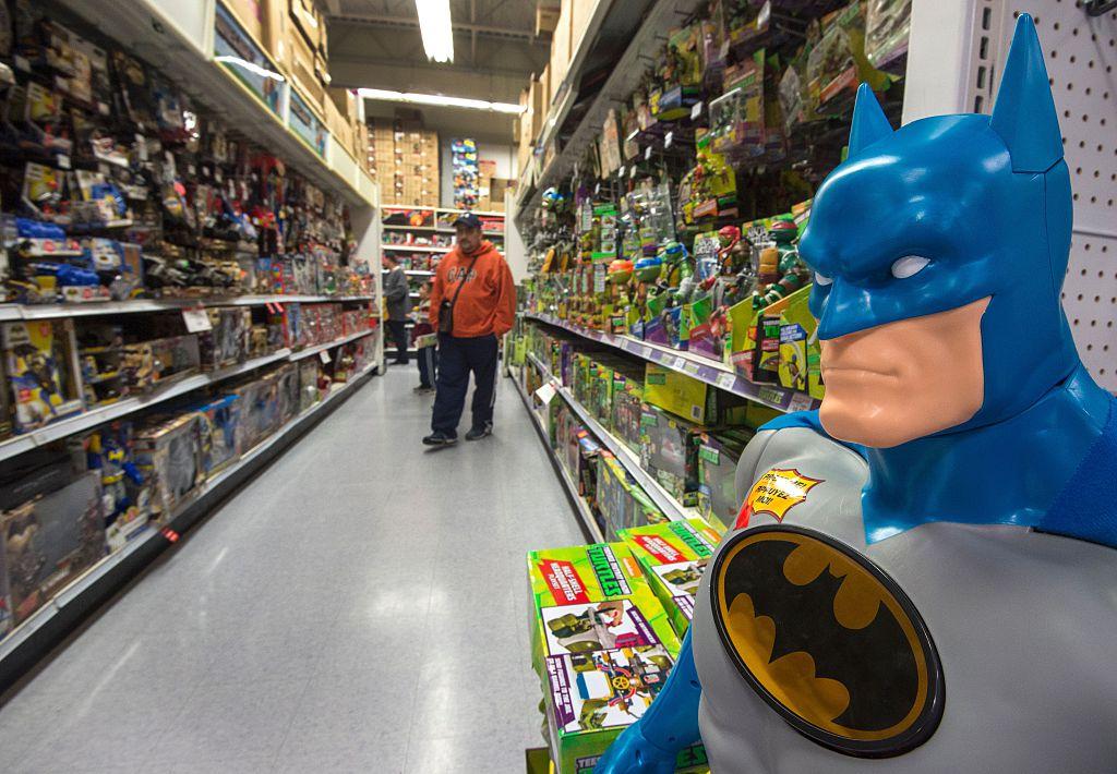 Shopping at Toys R Us
