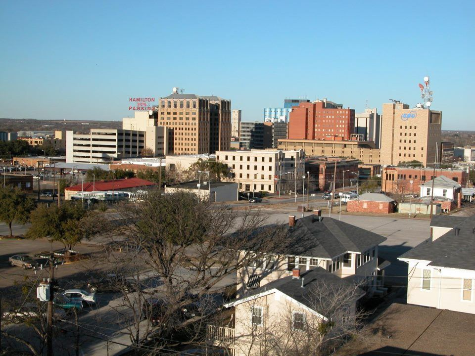 The Wichita Falls skyline