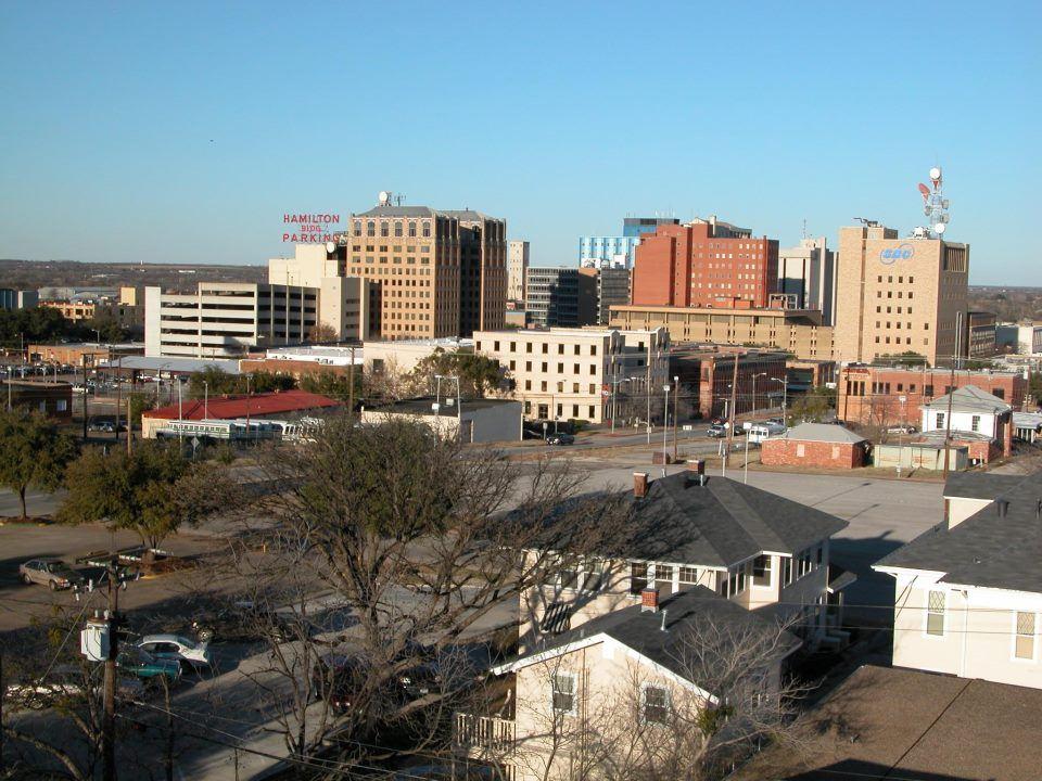 The Wichita Falls skyline
