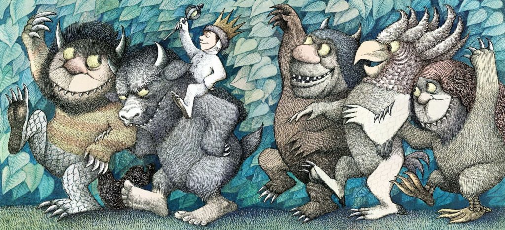 Cover art for Where the Wild Things Are