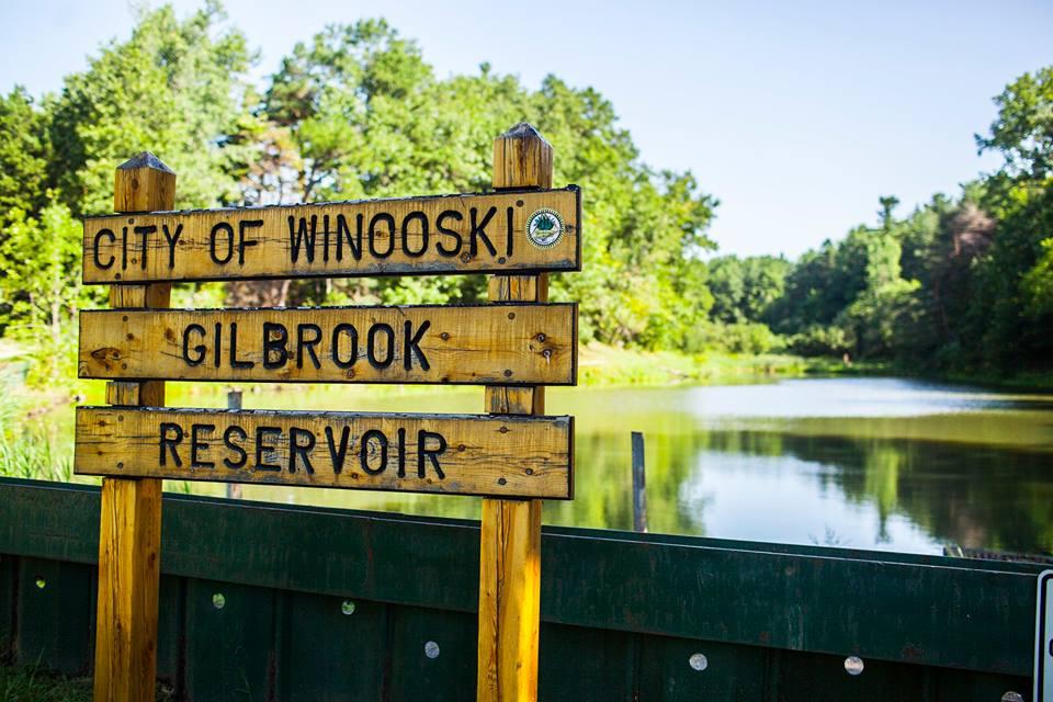 Winooski, Vermont sign