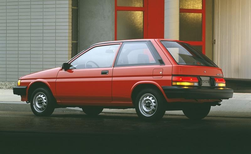 Toyota Tercel, 1987