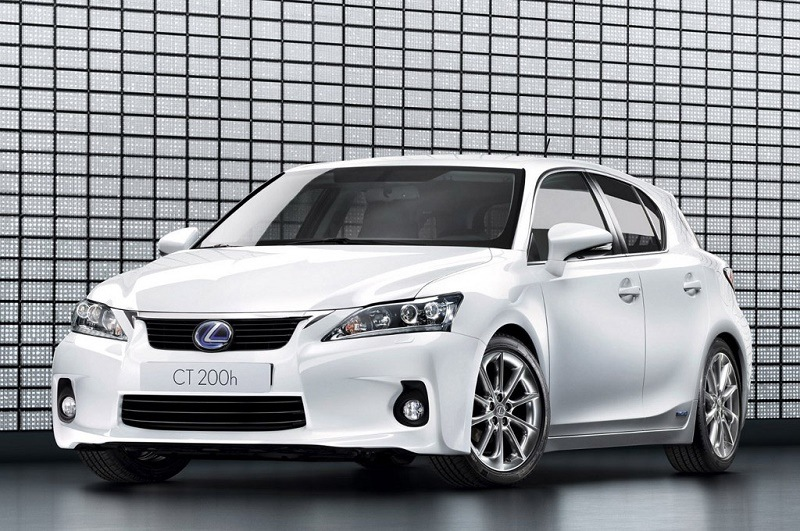 Lexus CT 200h hybrid sedan '12