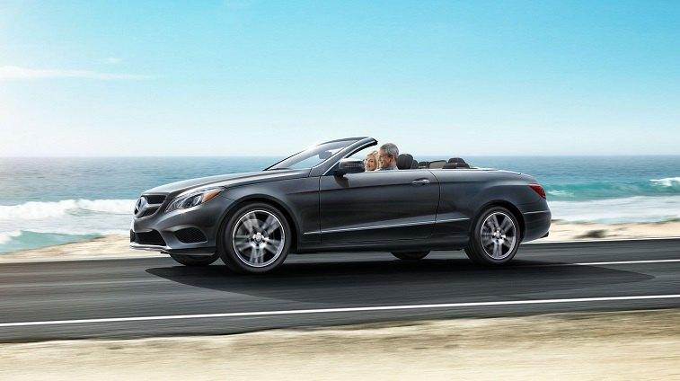 Black Mercedes-Benz E-Class Cabriolet