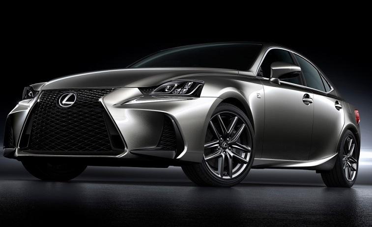 Silver Lexus IS