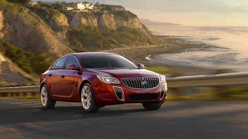 Red Buick Regal