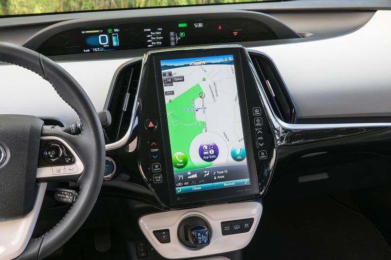 Prius Prime touchscreen
