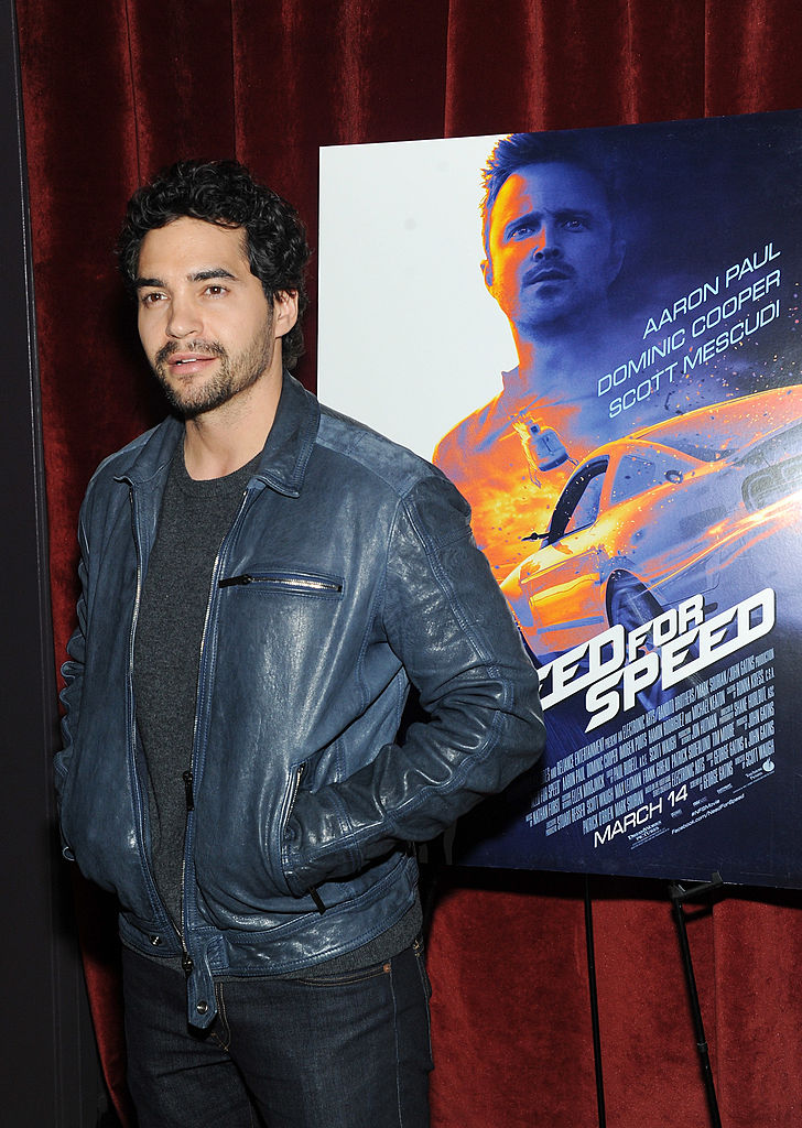 "Actor Ramon Rodriguez attends DreamWorks Pictures' ""Need For Speed"""