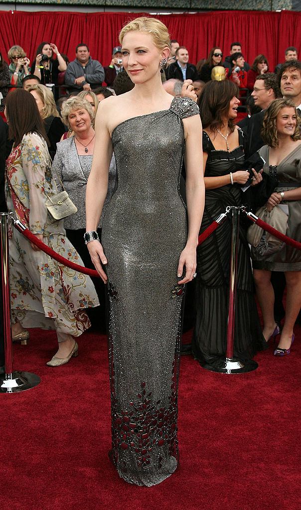 Actress Cate Blanchett attend the 79th Annual Academy Awards