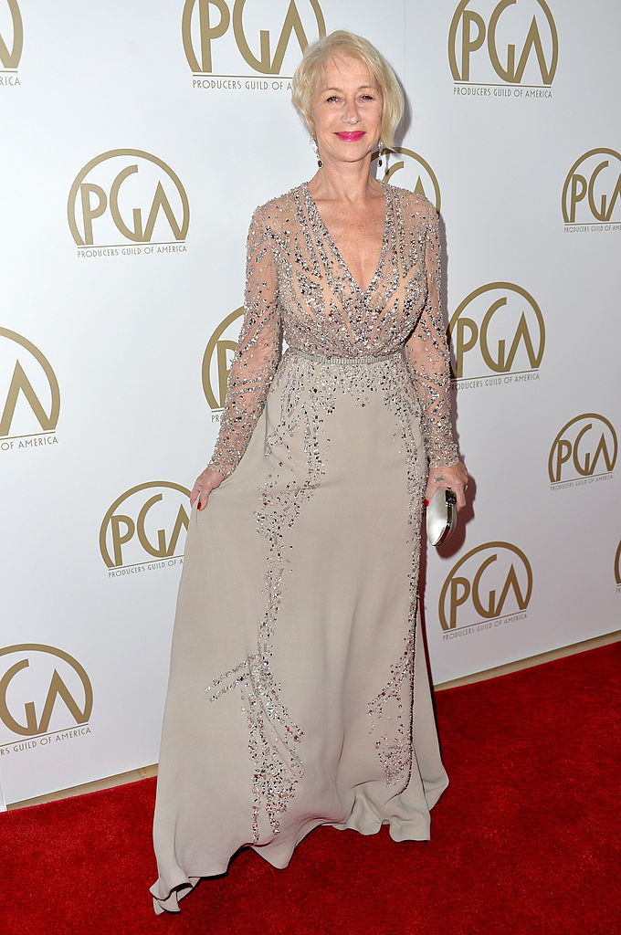 Actress Helen Mirren