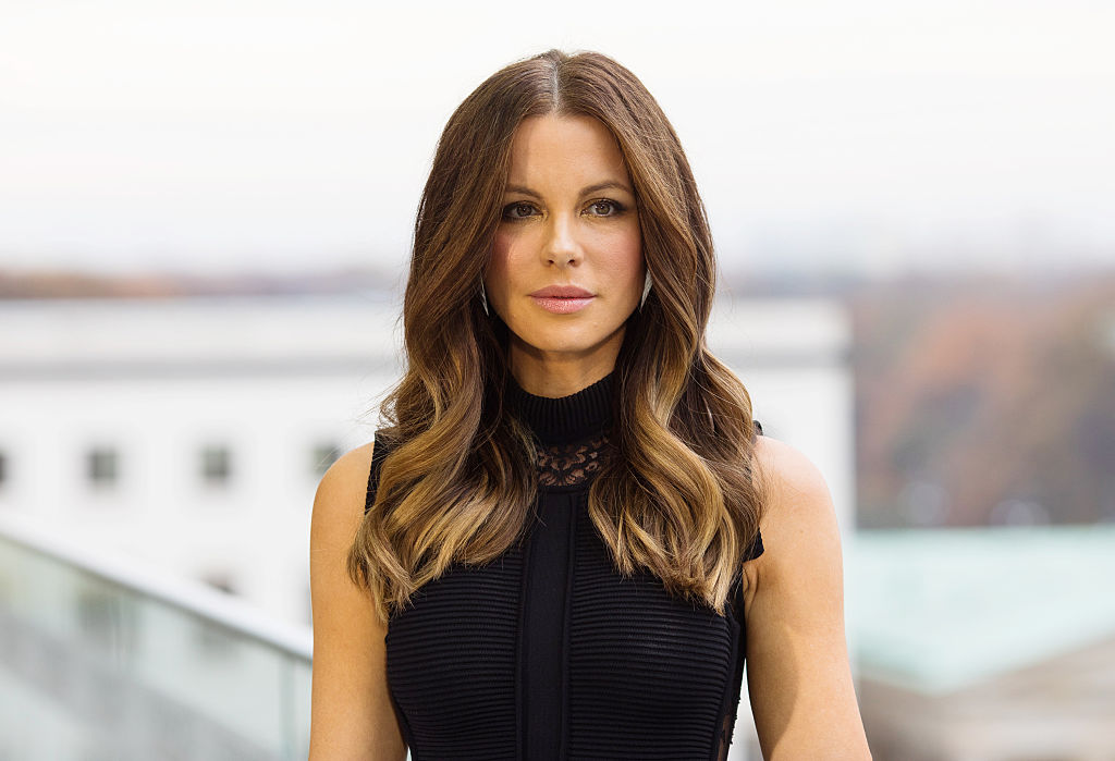 Actress Kate Beckinsale attends the Berlin to photocall for 'Underworld: Blood Wars'