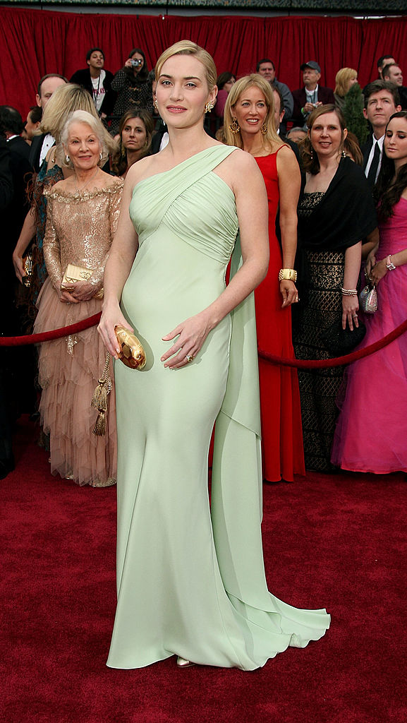 Actress Kate Winslet attends the 79th Annual Academy Awards