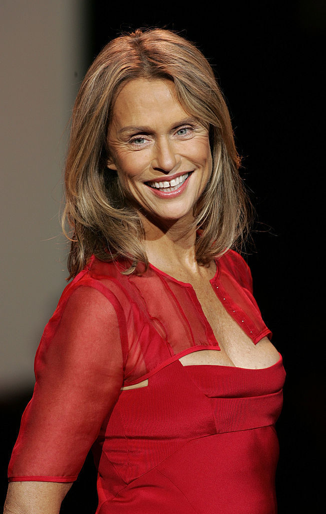 Actress Lauren Hutton