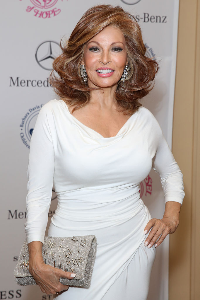 Actress Raquel Welch