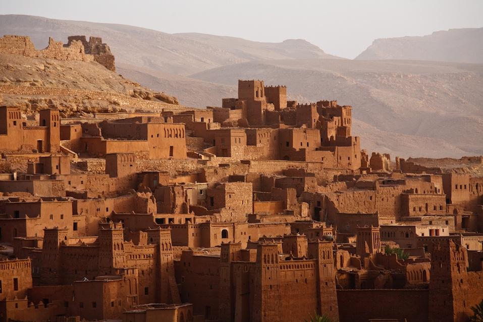 Ait Benhaddou Morocco Ouarzazate Sahara Desert