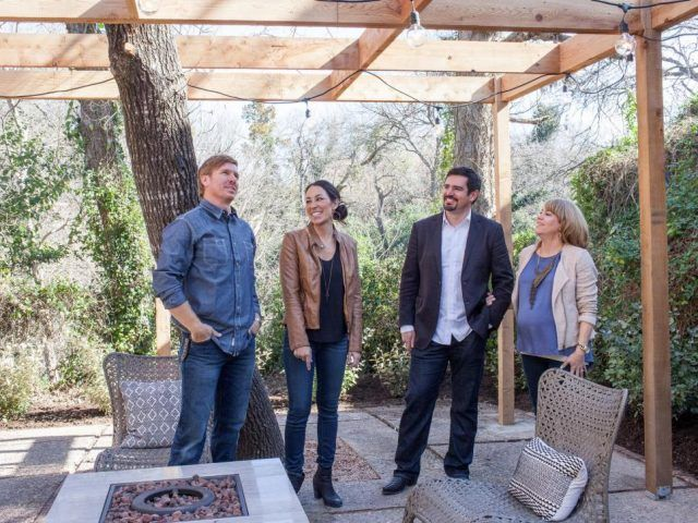 As seen on Fixer Upper, Chip and Joanna Gaines and the Barrett family talk about the functionality of the backyard.