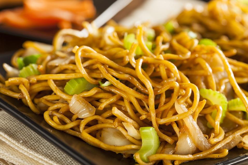 Asian Chow Mein Noodles