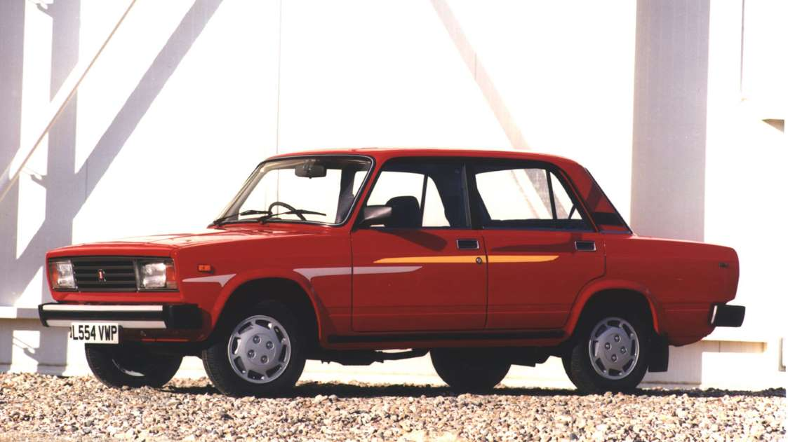 The Lada 1200 went by a number of different names.