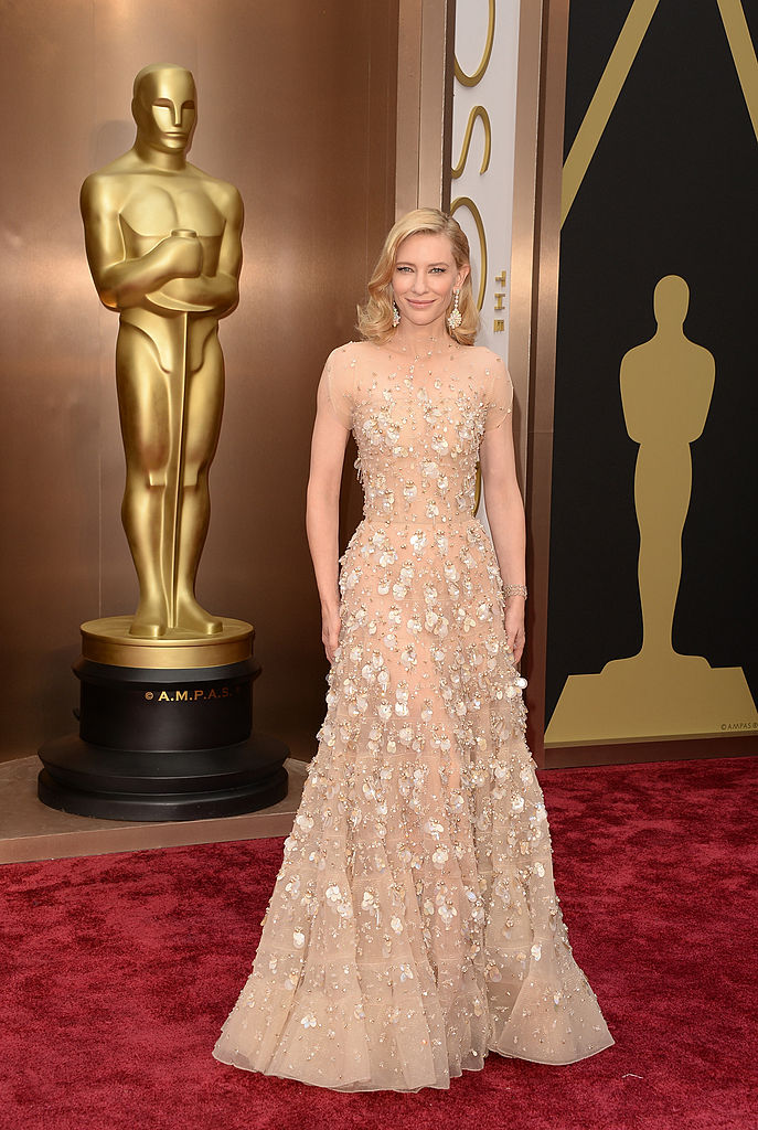 Actress Cate Blanchett attends the Oscars