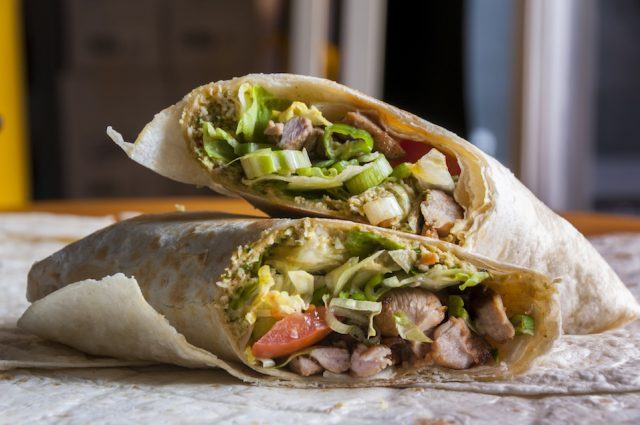 Just because it's a wrap doesn't mean it's healthy.