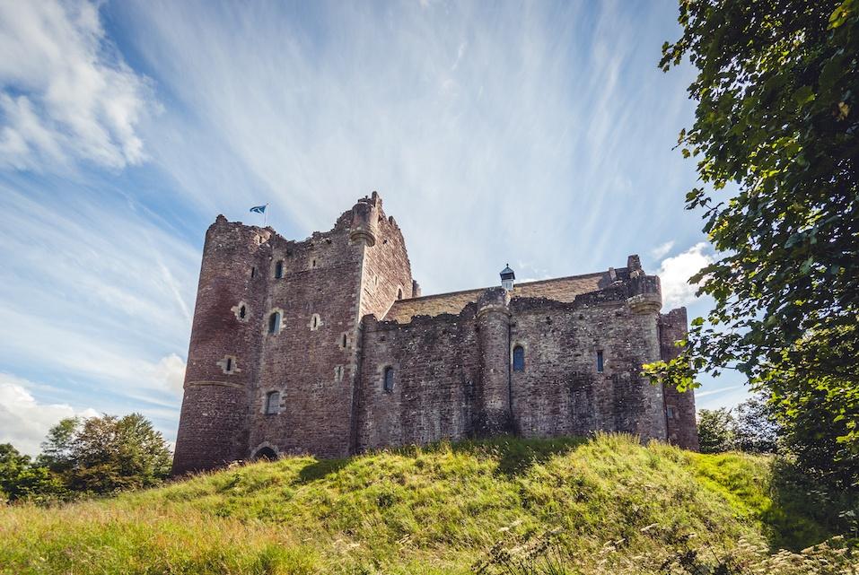 Doune Castle in Stirlingshire, Scotland