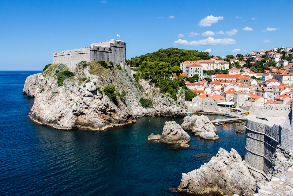 Adriatic's deep blue waters attract many tourists for the sunny summer season.