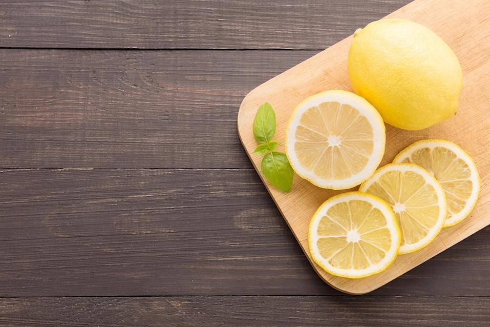 Fresh slice lemon