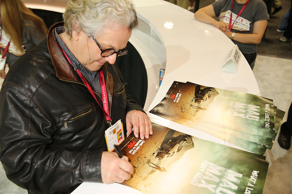 "George Miller of ""Mad Max: Fury Road"""