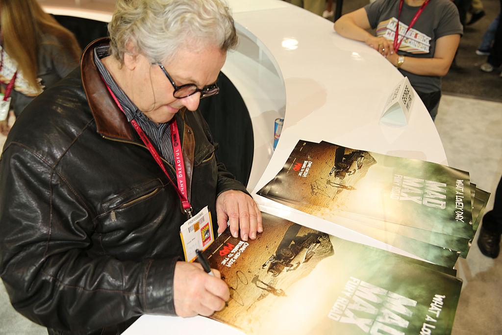 "George Miller of ""Mad Max: Fury Road"""