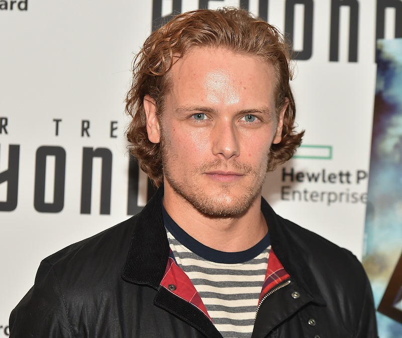 "Sam Heughan attends the ""Star Trek Beyond"" New York Premiere"