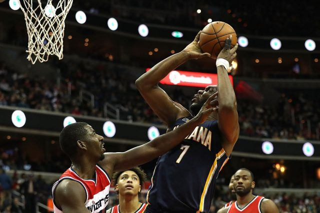 Al Jefferson of the Indiana Pacers