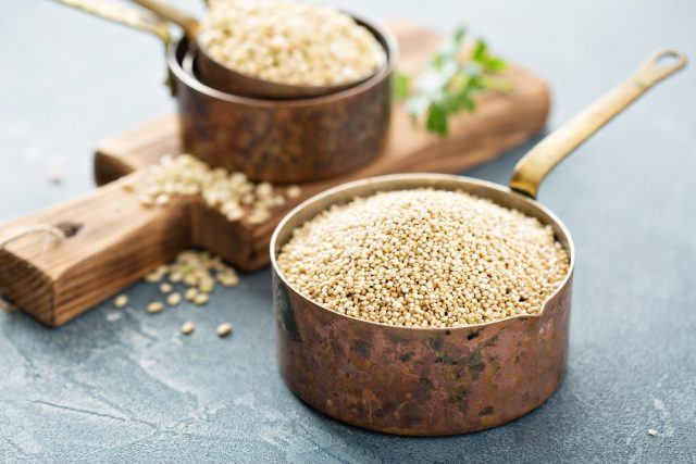 quinoa and other grains